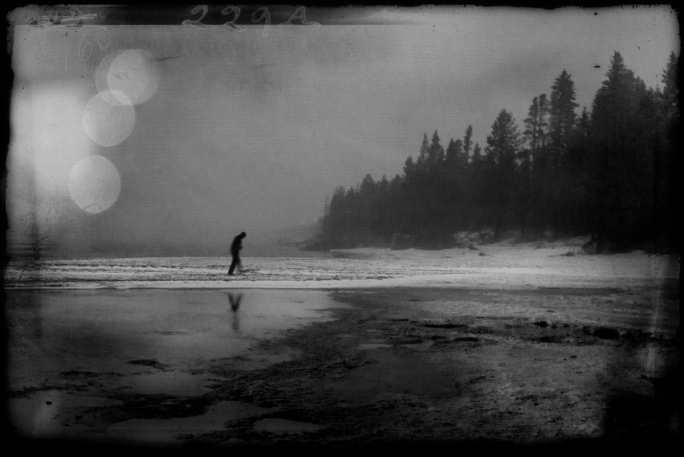 Kenny_gothic_lake_b_w